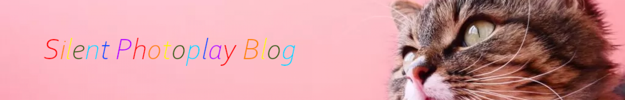 SilentPhotoplay Blog